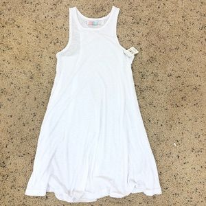 FREE PEOPLE LA NITE MINI DRESS WHITE